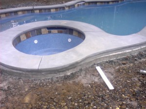 Pool Coping in Sussex County, NJ