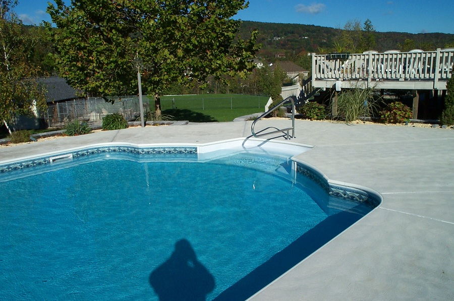 concrete pool decks in west milford nj.