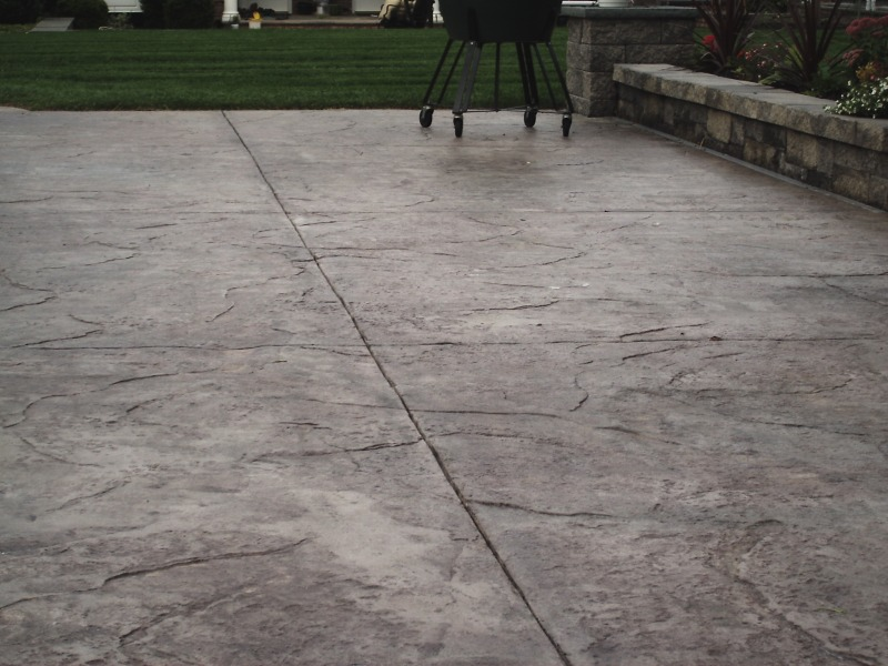 Stamped Concrete Restoration NJ. Contractors.