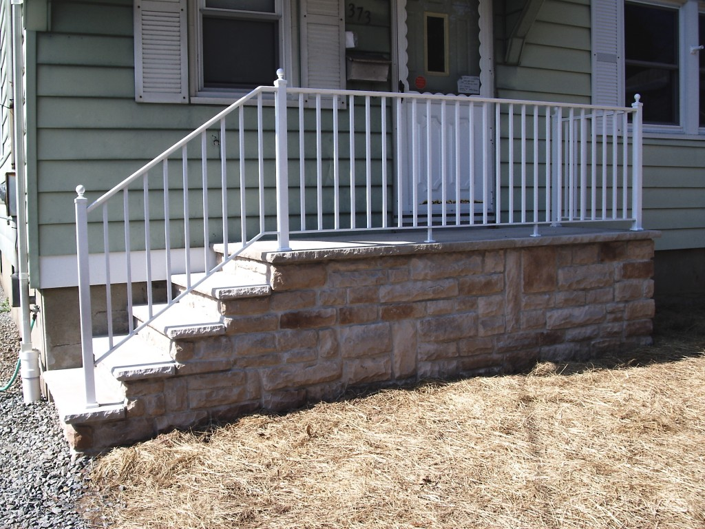 Cultured stone Steps in New Jersey