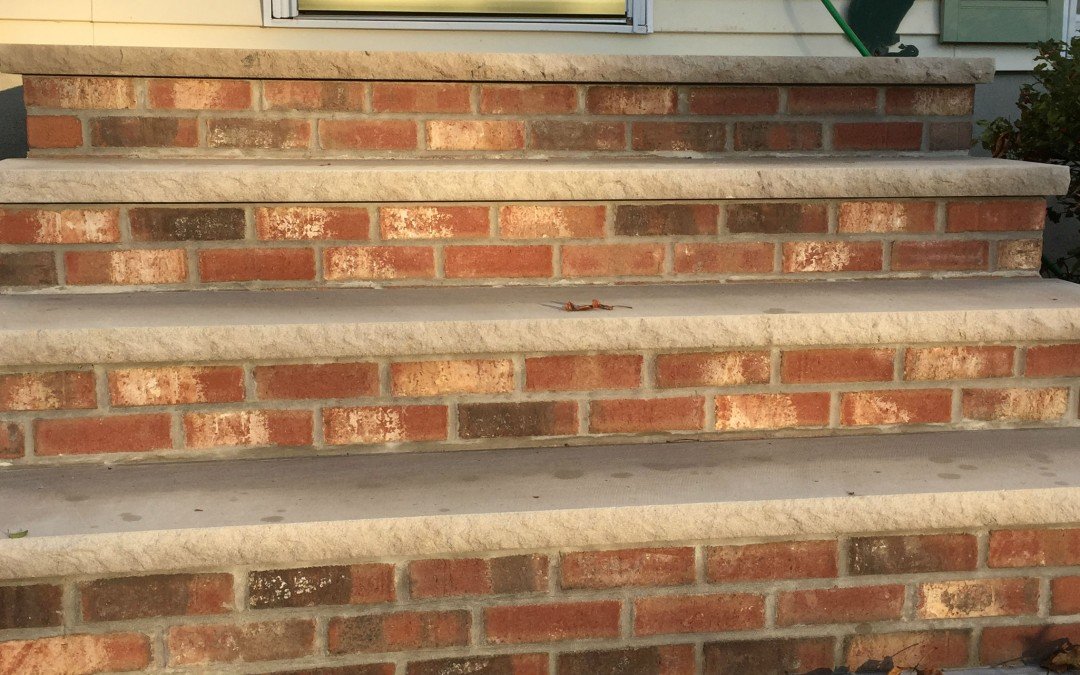 Masonry Steps in Wantage, Northern NJ
