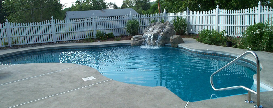decorative pool surround
