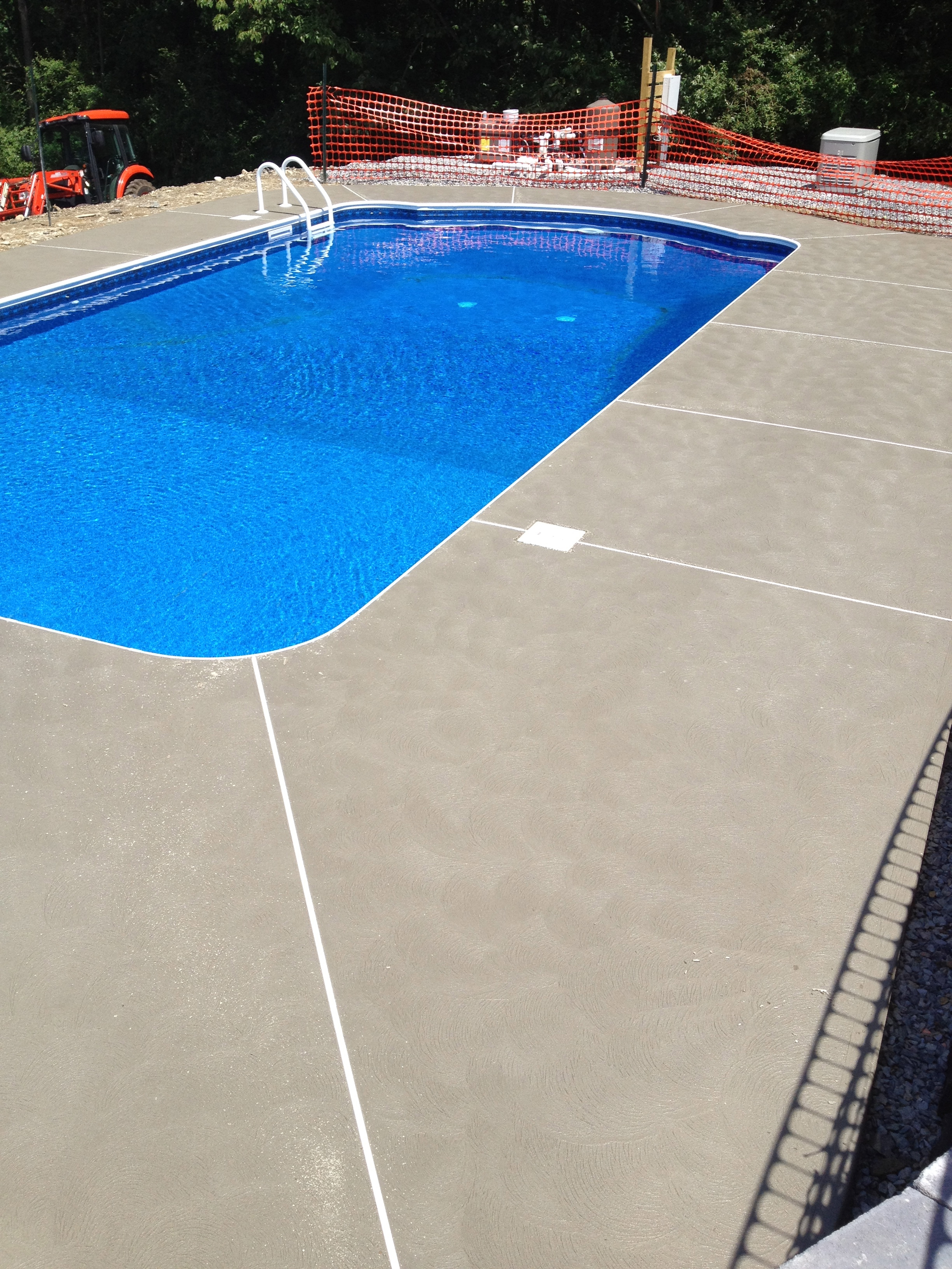 Concrete Pool Decks Sparta New Jersey