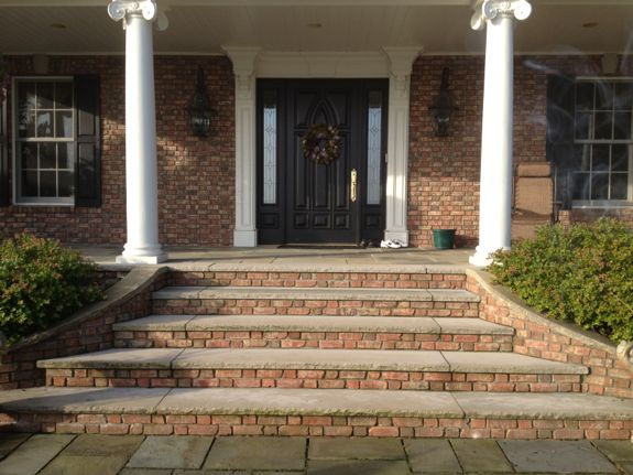 masonry steps for luxury homes in Sussex County NJ