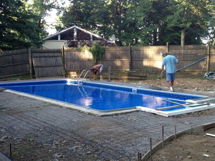 Pool Patio Replacement In Morris County Nj