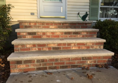 masonry steps in northern New Jersey