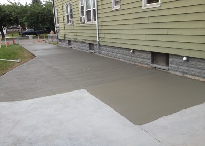 concrete driveways in Sparta & Andover