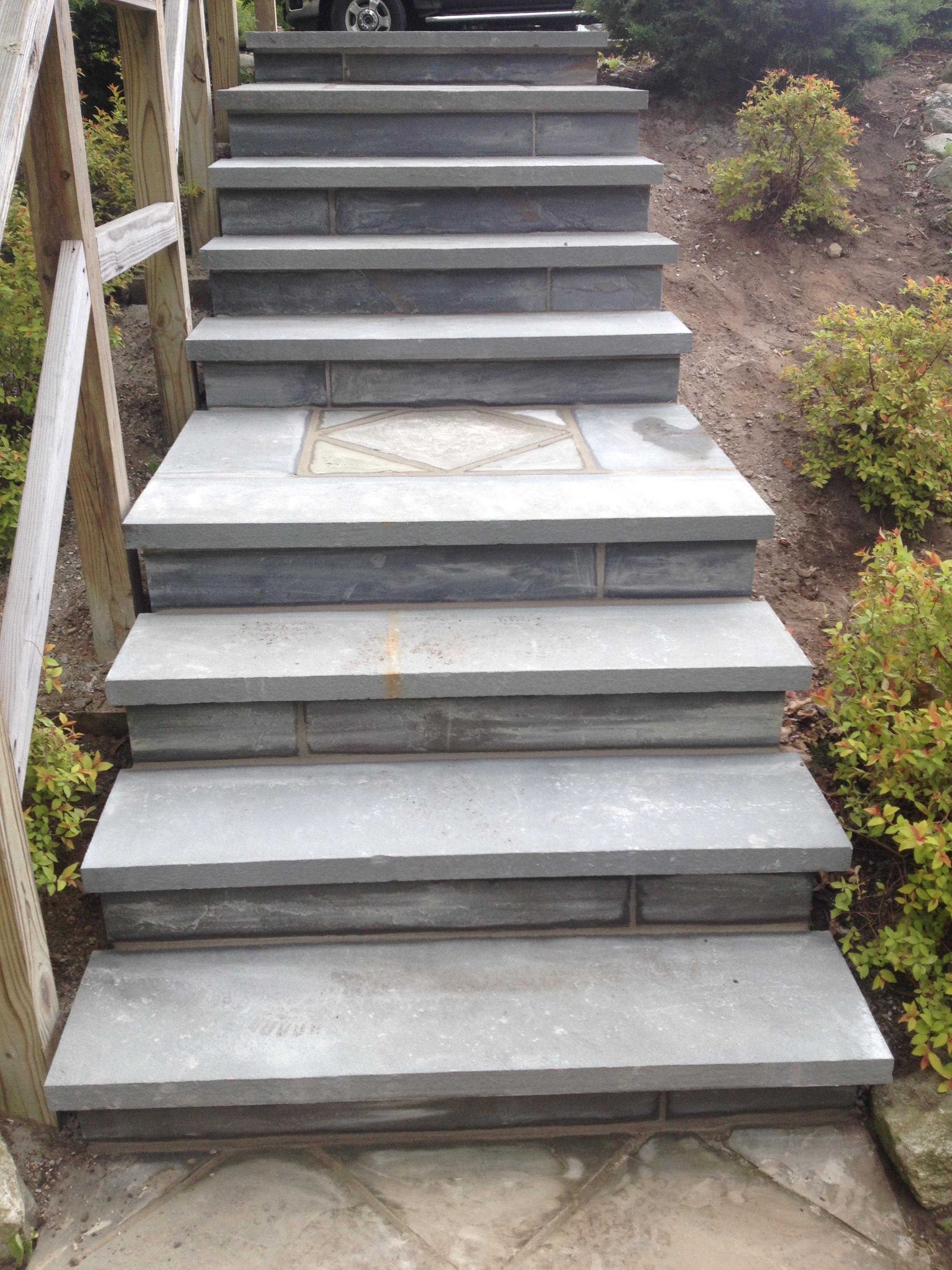 Masonry Steps: Gallery Of Brick & Concrete Work By J.W. Construction