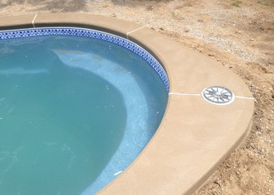 fiberglass cantilever pool coping