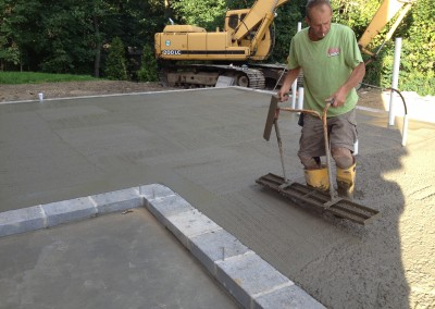 concrete floor contractors Sparta