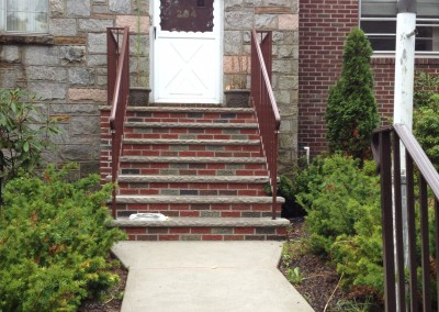 new brick step installation residential & commercial