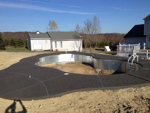 Pool Patio Concrete Decking Vernon 04762 Sussex County