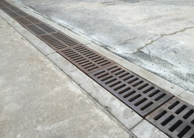 Storm drain & catch basin repair & rebuild