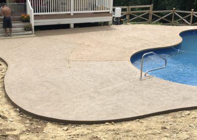 Desert Tan Pool Patio
