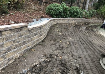 Landscape Block Retaining Wall