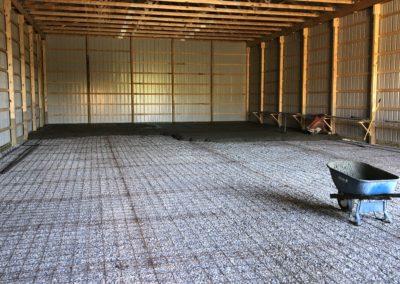 Sub grade concrete preperation