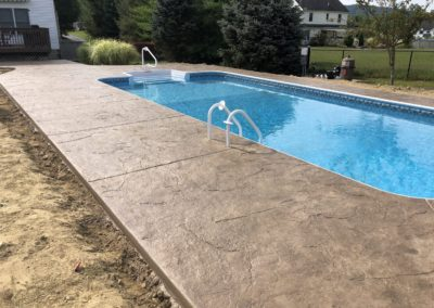 Stamped-concrete-pool-surround